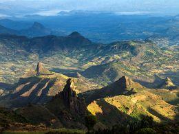 Gebirgslandschaft in Nord-Äthiopien