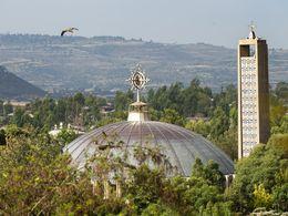 Die größte Kirche von Axum, die Marienkirche