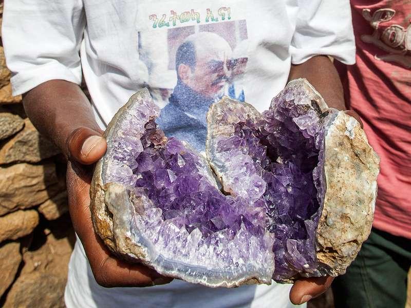 Amethyst aus Axum