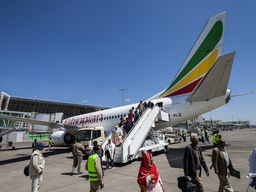Ankunft in Addis Abeba