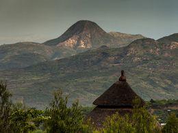 Alter Vulkan bei Konso