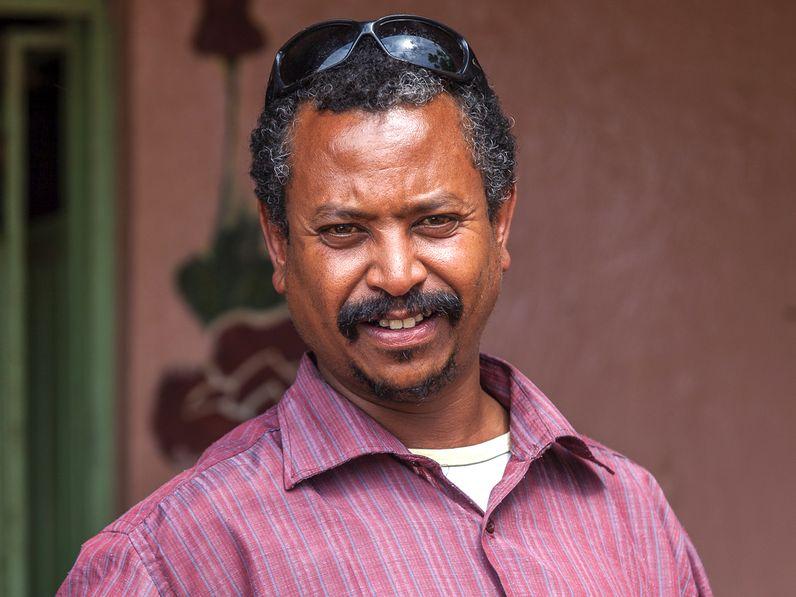 Enku Mulugheta - ein äthiopischer Geologe und unser Reiseleiter