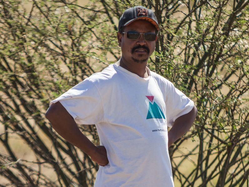 Enku Mulugheta, ein äthiopischer Geologe & Reiseleiter