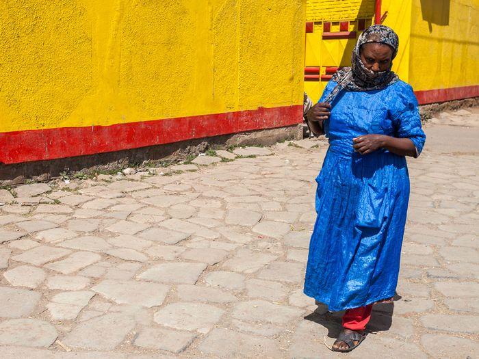 Äthiopien ist ein buntes Land mit vielen Volksgruppen und Sprachen. (c) Tobias Schorr
