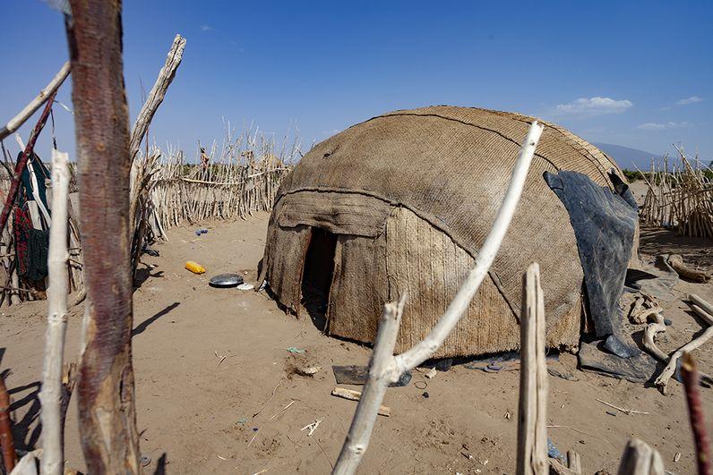 Diese einfachen Hütten schützen effektiv vor Hitze. Seit Jahrtausenden wird so gebaut. (c) Tobias Schorr