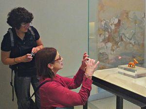 Im archäologischen Museum von Thira gibt es einzigartige Funde einer Kultur, die vor 3600 Jahren existierte!