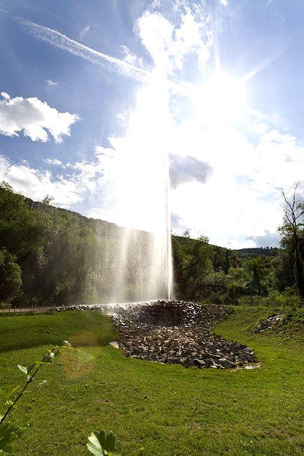 Der Kaltwasser-Geysir bei Andernach zeigt, dass die Eifel aktiv ist! (c) Tobias Schorr