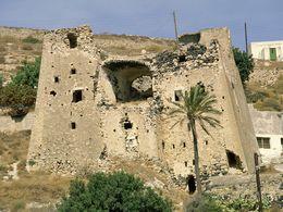A medieval castle near Emporio