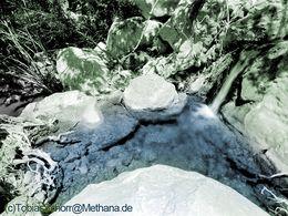 Experiment mit coloriertem Schwarzweissfoto (c) Tobias Schorr 1987