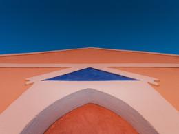Das Design der Kapelle Zoodochos Pigis bei Ia (c) Tobias Schorr