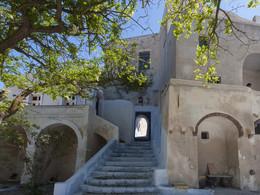 Eingangstor zur mittelalterlichen Festung. Pyrgos/Santorini (c) Tobias Schorr, April 2017