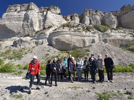 Die holländische Gruppe im Metaxas-Steinbruch