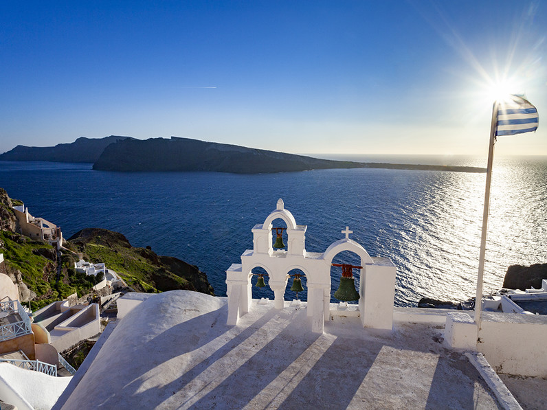 Träumen Sie von Santorin! Wenn Sie auf das Foto klicken, kommen Sie zur Santorin-Foto-Galerie!