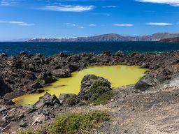 Der Kratersee auf Palea Kameni. (c) Tobias Schorr