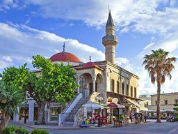 Die alte türkische Moschee in Kos. (c) Tobias Schorr