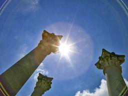Antike Säulen im Asklepios-Heiligtum von Kos. (c) Tobias Schorr
