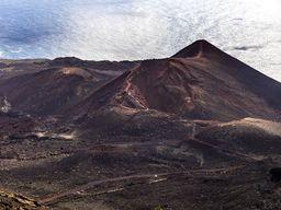 Der Vulkan Tenguia war 1971 aktiv