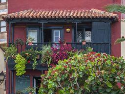 Schöne Häuser in Santa Cruz