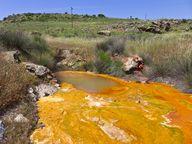 Heiße Mineralwässer von Polichnitos