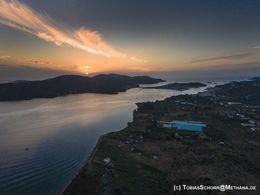 Sonnenaufgang über Kalavria/Poros (c) Tobias Schorr