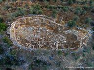 Η αρχαία ακρόπολη Μαγούλα στον Γαλατά. (c) Tobias Schorr