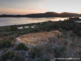 Die Akropolis von Galatas am Morgen (c) Tobias Schorr