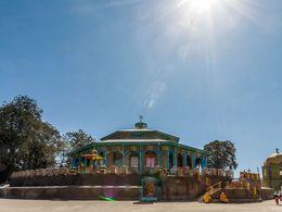 Die Mariam-Kirche beim Menelik-Palast in Addis Abeba