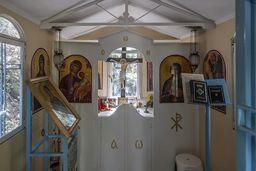 Im Inneren der Kapelle. (c) Tobias Schorr