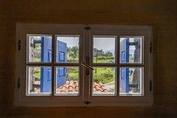 Blick aus dem Ferienzimmer. (c) Tobias Schorr