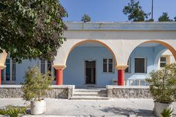 Das Heilbad Agios Nikolaos im Westen der Kurstadt Methana. (c) Tobias Schorr