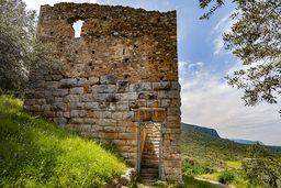 Der Turm ist bis im Mittelalter in Benutzung gewesen. (c) Tobias Schorr