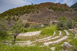 Das kleine Amphitheater von Theodoros Joannou in Kameni Chora. (c) Tobias Schorr