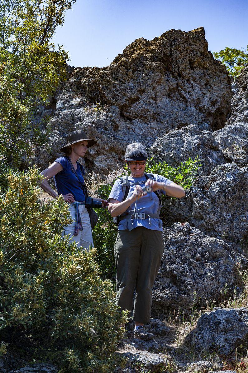 Wer trittsicher ist, hat kein Problem den Vulkan zu erwandern. (c) Tobias Schorr