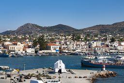 Der Hafen der Insel Ägina. (c) Tobias Schorr