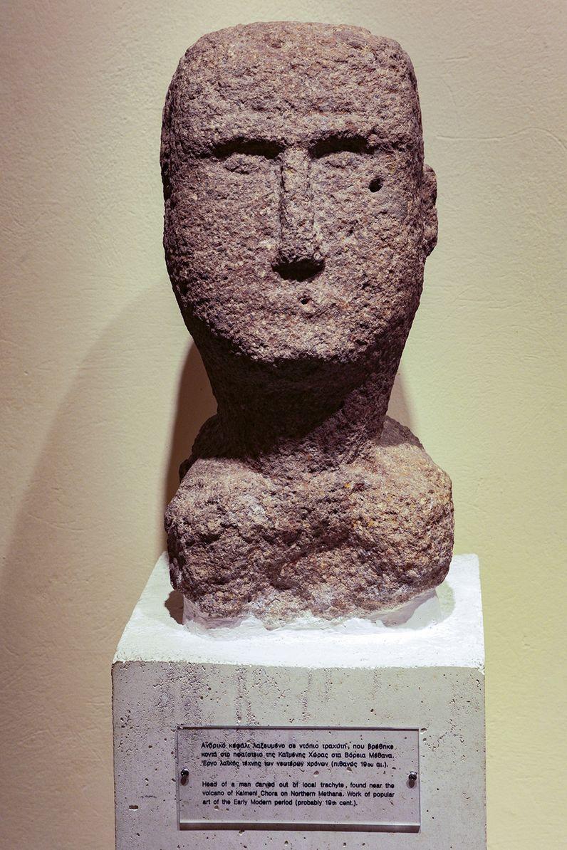 Der Steinkopf, den ich zusammen mit Lorenz Hurni 1996 bei Kato Mouska entdeckte. (c) Tobias Schorr
