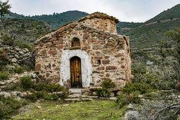 Die byzantinische Kapelle der Panagia stammt wohl aus dem 12 Jahrhundert. (c) Tobias Schorr