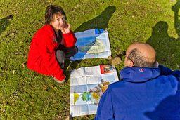 Die Karten der ETH-Zürich helfen bis heute bei der Erkundung der Halbinsel Methana. (c) Tobias Schorr