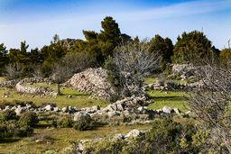 In dieser Gegend verbergen sich die Reste antiker Gebäude. Lag dort ein Heiligtum? Es wäre wert, diesen Platz systematisch, archäologisch zu erforschen! (c) Tobias Schorr
