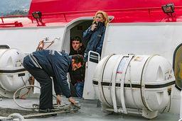Die Crew des Flying Dolphins. (c) Tobias Schorr