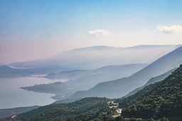 Blick in das Troizenische Land, die Heimat des mythischen Helden Theseus. (c) Tobias Schorr
