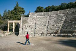 Carmen im antiken Theater von Epidaurus. (c) Tobias Schorr