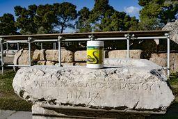 Gift gegen Schlangen am Theater von Epidaurus. (c) Tobias Schorr