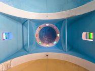 Die Decke in der Kirche Agios Georgios