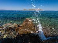 Küste bei Agios Nikolaos auf Methana