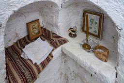 Das Innere der Kapelle Profitis Ilias. (c) Tobias Schorr