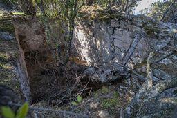 Häuserruine. Manchmal mussten die Menschen wochenlang hier Schutz vor Seeräubern suchen. (c) Tobias Schorr