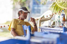 Einer der Fischer aus Vathy bei Taki. (c) Tobias Schorr
