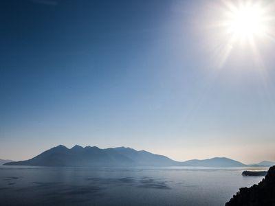 Die Halbinsel Methana war die Basis für die Reise in die Ost-Peloponnes