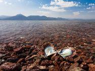 Der Almyra-Strand von Vathy