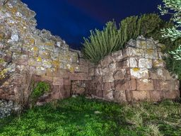 Abendliches Foto des Tors zur Akropolis. (c) Tobias Schorr
